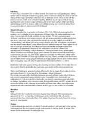 Livsstil och hälsa, rapport | Naturkunnskap