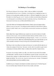 En läsning av Norrtullsligan | Svenska