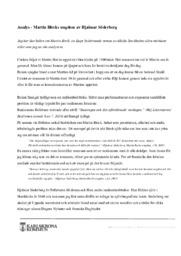Analys – Martin Bircks ungdom av Hjalmar Söderberg