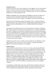Abrahamitiska religioner kvinnosyn | Religion