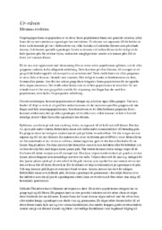 Ur-räven | Rävarnas evolution | Biologi 1