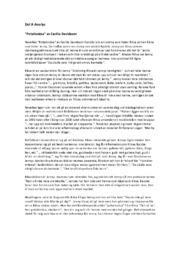"Del A Analys ""Potatisnäsa"" | Cecilia Davidsson"
