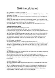 Skönhetsidealet | Argumenterande Tal | Svenska