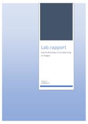 Spektrofotometrisk bestämning av koppar | Lab Rapport