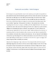Samla och sovra källor | Analys | Astird Lindgren