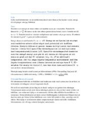 Laborationsrapport | Likformigt accelererad rörelse