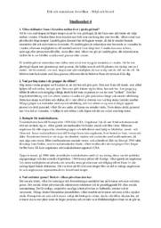 MÄNET 10 Miljö och livsstil | A i betyg