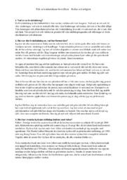 MÄNET10 Kultur och religion | A i betyg