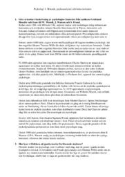 Historik, psykoanalysen och behaviorismen | Psykologi | A i betyg