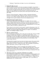 Psykisk hälsa och ohälsa, stress, kriser och krishantering | A i betyg