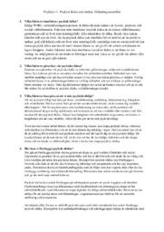 Psykisk hälsa och ohälsa, förklaringsmodeller | Psykiatri | B i betyg