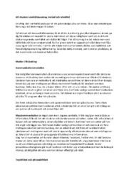 Uppgifter Medier i förändring | B i betyg