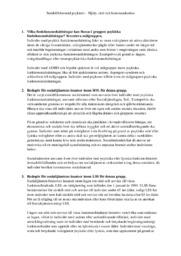 Hjälp, stöd och kommunikation | Samhällsbaserad psykiatri | A i betyg