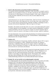 Psykiatrisk rehabilitering | Samhällsbaserad psykiatri | A i betyg