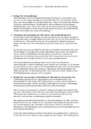 Arbetsmiljö och dokumentation | Vård och omsorgsarbete