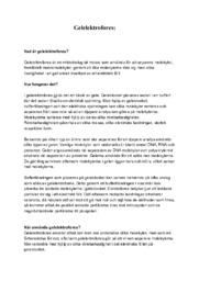 Kemi | Gelekrofores | B i betyg