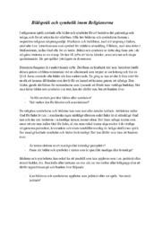 Bildspråk och symbolik inom Religionerna   B i betyg