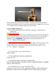 Uppgift i straffrätt  | B i betyg