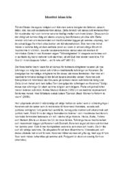 Identitet islam kön | Religion B