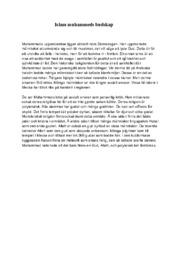 Islam muhammeds budskap | Religion | B i betyg