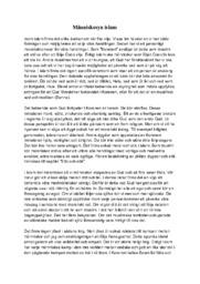 Människosyn islam | Religion | B i betyg