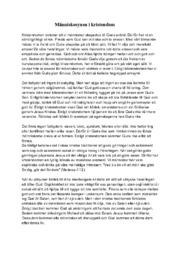 Människosynen i kristendom | Religion | B i betyg
