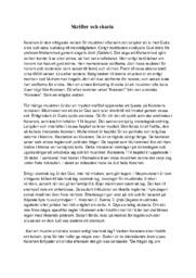 Skrifter och sharia | B i betyg
