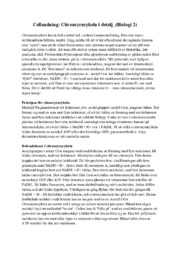 Cellandning | Citronsyracykeln i detalj