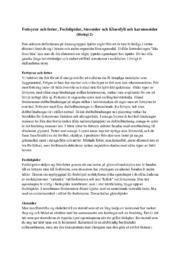 Fettsyror & fetter, Fosfolipider, Steroider & Klorofyll & karotenoider