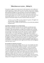 Människans nervsystem   Biologi   A i betyg