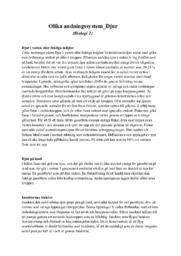 Olika andningssystem | Djur | B i betyg