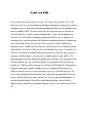 Kemi och Etik