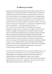Kvaliteten på en analys | Kemi