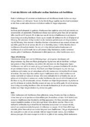 Centrala likheter och skillnader mellan hinduism och buddhism