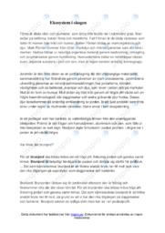 Ekosystem i skogen | B i betyg | Biologi