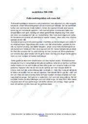 Folkvandringstiden och roms fall | Historia | B i betyg