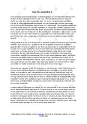 Väst-Öst modellen | A i betyg