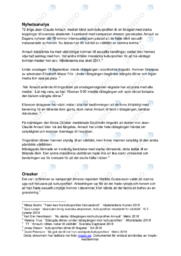 Nyhetsanalys | Samhällskunskap | B i betyg