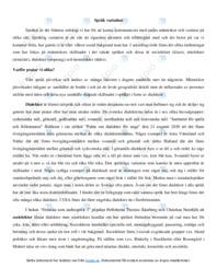 Språk variation | Svenska som andraspråk | B i betyg