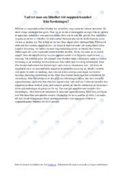 Blindhet vid ouppmärksamhet från forskningen | Biologi uppgift