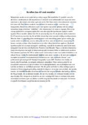 Kraften hos 43 små muskler   Biologi uppgift   B i betyg