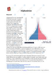 Afghanistan demografi | Geografi | B i betyg