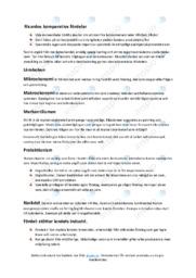 Nationalekonomi | Anteckningar | C i betyg