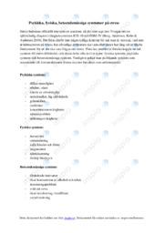 Symtomer på stress | Biologi uppgift | C i betyg