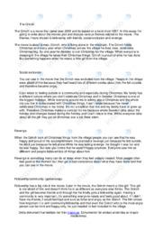 The Grinch | Engelska uppgift | C i betyg