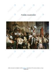Franska revolutionen | Historia uppgift | B i betyg
