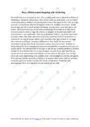 Ikea effekten | Psykologi uppgift | C i betyg