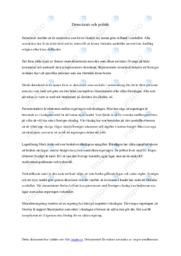 Demokrati och politik | Samhällskunskap | B i betyg