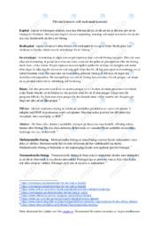 Privatekonomi och nationalekonomi | Samhällskunskap