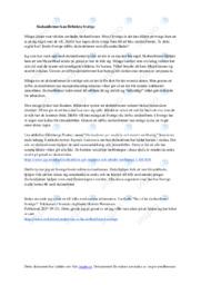 Skoluniformer kan förbättra Sverige | Uppgift